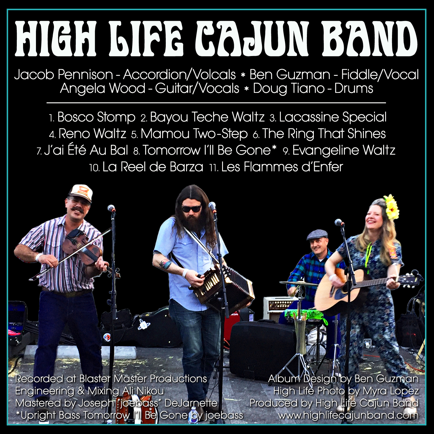 The High Life Cajun Band – Straight Ahead Cajun Dance Music